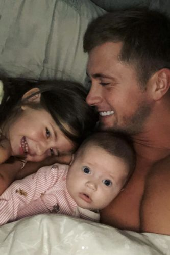 Dan Osborne shares ADORABLE images of daughters Ella and Mia after returning home from filming Celebrity Road Trip