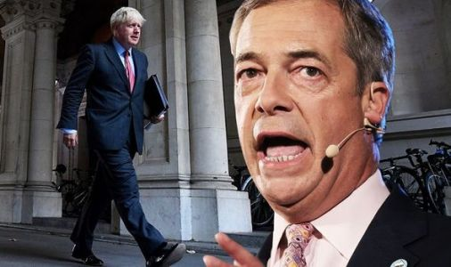 Boris Johnson WARNED: Farage promises he'll RESURRECT Brexit Party if UK caves to EU