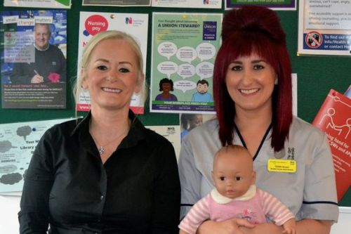 Nice one Terri as mum completes apprenticeship to spur her on to nursing career