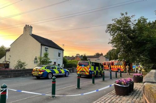 Girl, 6, dies after being hit by car while walking along road with her dad