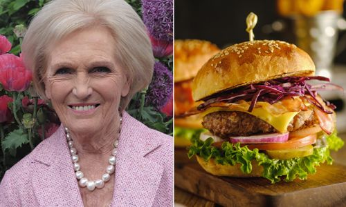 Mary Berry's quick and easy burger recipe is a summer BBQ must-try
