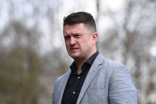 Tommy Robinson released on bail after arrest on suspicion of assault