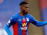 Crystal Palace confirm Wilfried Zaha is self-isolating as star is omitted from squad to face Burnley