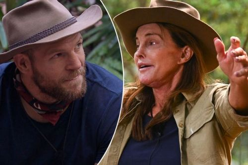 I'm A Celebrity's Caitlyn Jenner is 'greeted on the bridge' by camp mate James Haskell