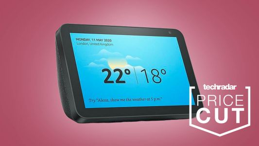 Amazon's Echo Show 8 is half price at just £59.99 in spectacular Christmas deal