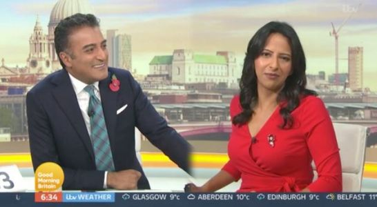 Ranvir Singh Shows Good Morning Britain Viewers How Strictly Come Dancing Training Is Taking Its Toll