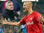 Ole Gunnar Solskjaer sends his 'personal scout' to watch Erling Braut Haaland
