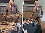 Prince Charles launches limited edition scarf to mark the 10th anniversary of The Campaign For Wool
