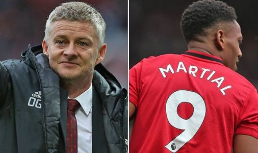 What Man Utd boss Ole Gunnar Solskjaer told Anthony Martial after giving him No 9 shirt