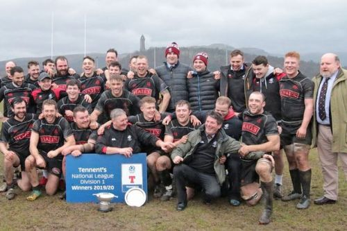 Biggar Rugby Club consider options after season declared 'null and void'