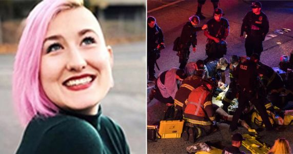 Black Lives Matter protester killed after car ploughs into crowd