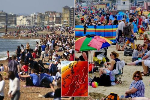 UK weather forecast: Britain to be 'hottest in Europe' with 28C roast next week