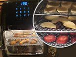 Shoppers discover secret function in Aldi air fryer that dehydrate fruits and vegetables