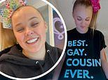 JoJo Siwa, 17, confirms she came out as LGBTQ+ after wearing 'Best Gay Cousin Ever' shirt