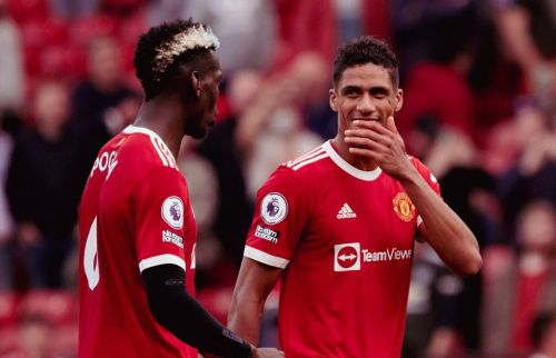 Raphael Varane sends message to Paul Pogba over Manchester United future and discusses Harry Maguire partnership