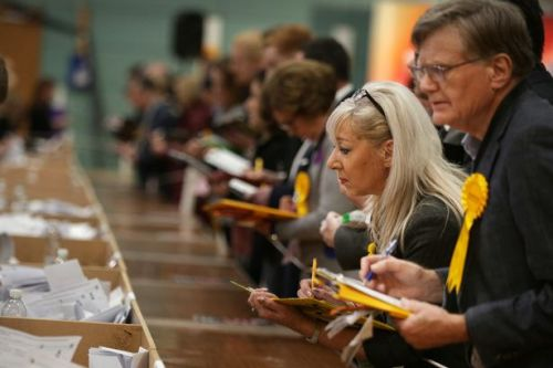 Latest poll predicts 62 seat Tory majority with SNP still on course to return 55 MPs