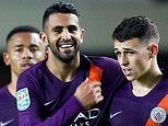 Oxford United 0-3 Manchester City: Phil Foden scores first senior goal