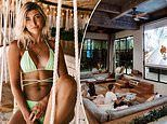 Travel bloggers forced to stay inside their Balinese mansion are criticised for bragging