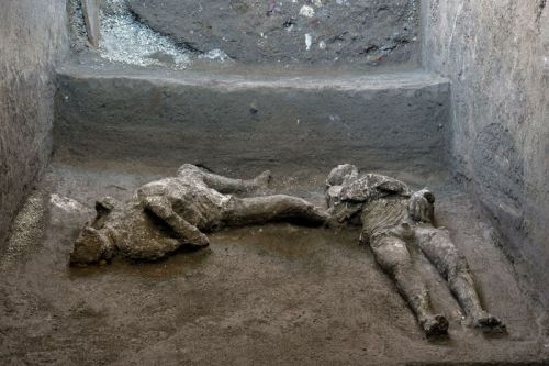 Archaeologists find two more bodies among the ruins of Pompeii