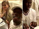 Paul Pogba and Kurt Zouma head out for dinner and play Uno as friends prepare to turn foes