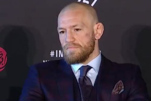 Conor McGregor reignites trash talk with Khabib despite Dustin Poirier defeat