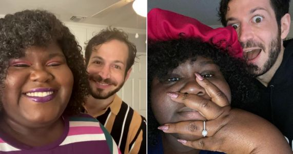 Gabby Sidibe announces engagement to Brandon Frankel: 'My BFF proposed'
