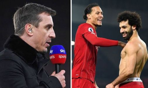 Man Utd hero Gary Neville claims he was 'glad' to see Liverpool beat former side