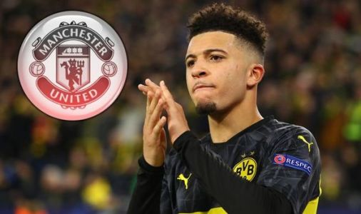 Jadon Sancho expects £120m Man Utd transfer to be done this week after Ed Woodward talks