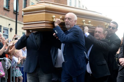 Father Ted star Brendan Grace laid to rest as stars pay respect in Dublin