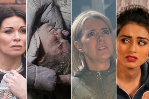 Who DIES in Coronation Street factory roof collapse?