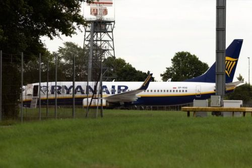 RAF jets scrambled as Ryanair flight from Krakow to Dublin makes emergency landing at London Stansted