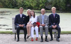 A royal family member has apologised after attending a party in Spain