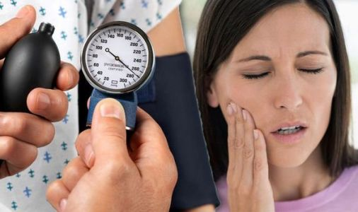 High blood pressure warning - the feeling on your face that could cause 'sudden death'