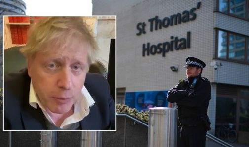 Coronavirus: Boris Johnson remains in ICU but is 'responding to treatment'