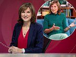 Fiona Bruce reveals her husband coloured her hair during lockdown after watching YouTube tutorial