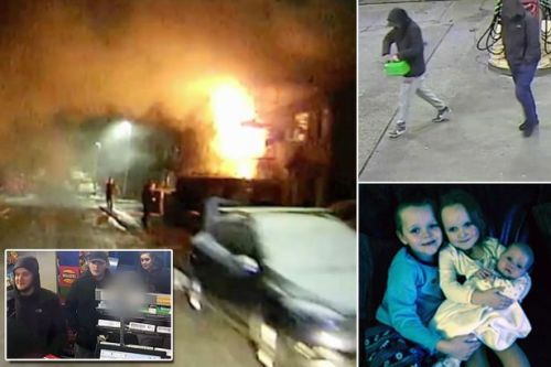 BREAKING Two men who petrol-bombed Salford home killing four children as they slept found guilty of murder