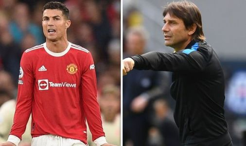Cristiano Ronaldo warned Antonio Conte would 'pull him off the pitch' at Man Utd