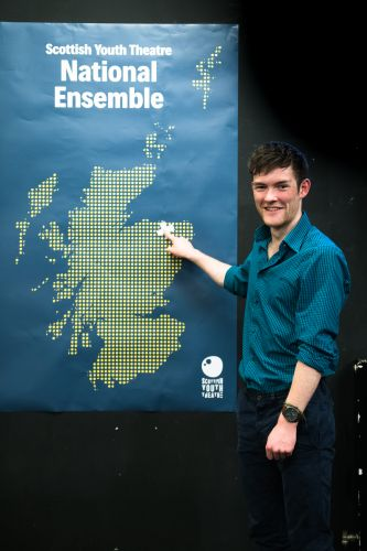Young north-east actors take the lead roles in new play