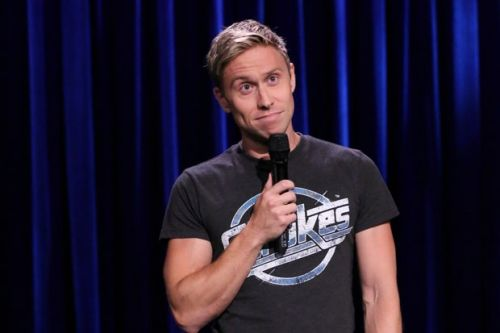 Russell Howard walks out of live comedy set after audience member films him
