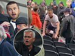 Seething Jose Mourinho reprises his 'I prefer not to speak' routine over Eric Dier's FOUR match ban