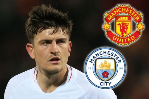 Man City poised to beat Man Utd to £65million Harry Maguire transfer