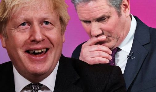 Keir Starmer in BIG trouble as devastating poll shows Boris secure mammoth 13-point lead