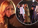 Jennifer Aniston reports from the scene of a crime for new Apple series Morning Show