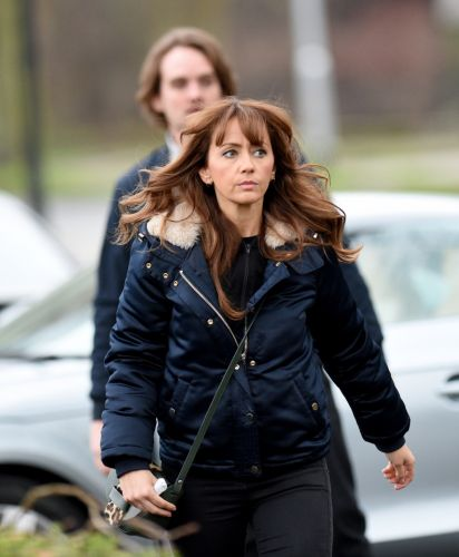 Coronation Street's Dr Ali confesses his love to Maria and asks her not to marry Gary but she storms off