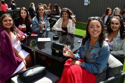 'I wasn't sure if we'd come back': Kilmarnock beer garden reopens to the public