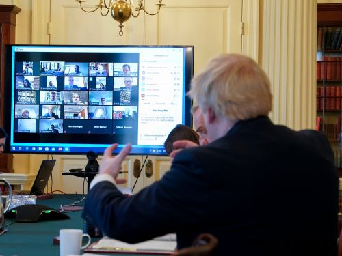 Boris Johnson will keep using Zoom for the government's private weekly meeting despite security and privacy concerns