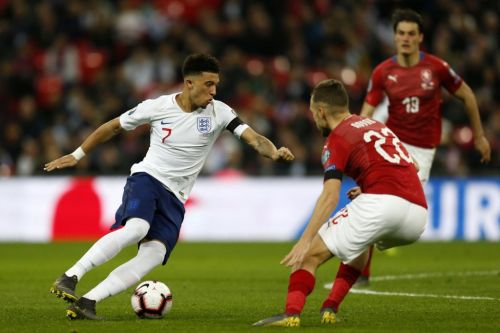 Gareth Southgate reveals the touchline advice he gave Jadon Sancho before he registered his first England assist