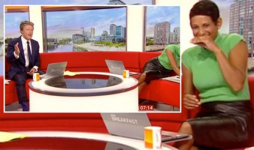 Naga Munchetty mortified as Charlie Stayt mocks mistake 'Could show many, many times'