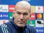 Zinedine Zidane warns Real Madrid players 'reputation is on the line' against Club Brugge