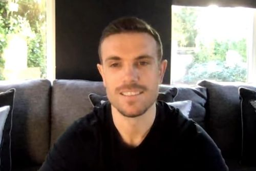 Jordan Henderson embraces different normal as football takes a back seat